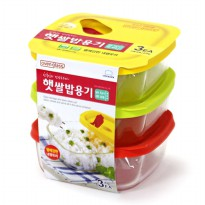 Lock&Lock - Oven Rice Glass Container get 3 PCS 320ML