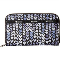 [macyskorea] LeSportsac Essential Everyday Wallet Painted Hearts BLUE C, One Size/18005249