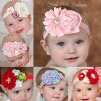 hb035/Headband Baby/ Bando Bayi/Headband New born/ jepitan rambut