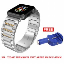 Hoco Link Bracelet Stainless Steel band Apple Watch 42mm - Silver