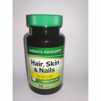 Nature's Measure Hair, Skin & Nails ( 30 Tabs )