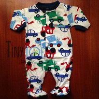 (Terbatas) Carters Little Cars Jumpsuit