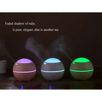 Romantic Projection Light and Shadow Aroma Diffuser Essential Oil Mist Humidifier 7 Colors LED - 150ml