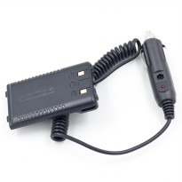 Baofeng Walkie Talkie Car Charger Adapter UV-T8 for BF-UVB2 - Black