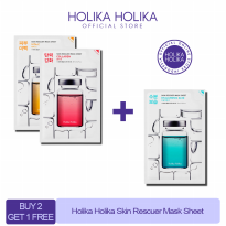 [BUY 2 GET 1 FREE] Holika Holika Skin Rescuer Mask Sheet