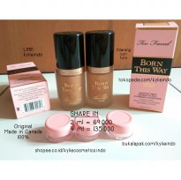 SHARE IN JAR 2ml - TOO FACED BORN THIS WAY FOUNDATION ORIGINAL 100%