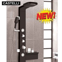 CASTELLI RAIN SHOWER DENGAN SISTEM JETSPA, WATER FALL RAIN SHOWER SET