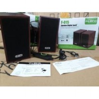 Speaker Multimedia 2.0 F-015 Komputer / Laptop usb