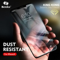 BENKS KINGKONG COATING TEMPERED GLASS SCREEN PROTECTOR FOR iPHONE X