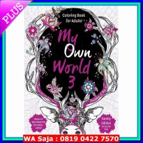 Art Books My own World : coloring book 3-Family Edition