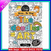 Drawing & Coloring for Adults: The Doodle Art