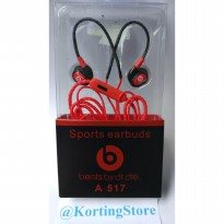 Earphone / Headset / Headphone Sport Beats by Dr.Dre MD-A517