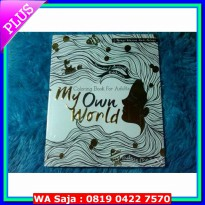 (Seni) My Own World (Coloring Book For Adults)