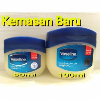 Vaseline petroleum jelly ORIGINAL / vaseline arab KEMASAN BARU 50 ML