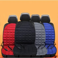 Electric Heating Car Seat Cover Bantal Penghangat Kursi Jok Mobil