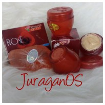 JuraganOS Paket 2in1 Cream Rose Dan Sabun Rose Kinoki