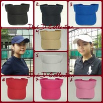 D & D Hat Collection Topi Caddy, Tenis, Golf/ Topi Olahraga Outdoor