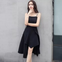 MANDY premium dress midi dress korean style kode 1020