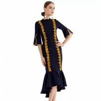 ALILA premium midi dress elegant is number one kode 1014