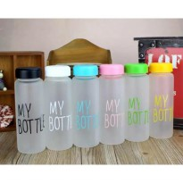 My Bottle Infused Water Doff Trittan BPA Free + Pouch / Bag 500ml