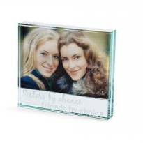 Sisters By Chance Glass Frame #177905