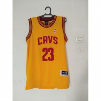 Baju Basket Second Lebron James Claveland
