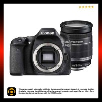 Canon EOS 80D Kit 18-200mm IS WiFi - Black