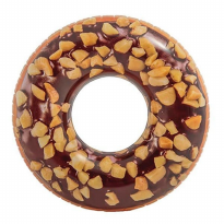 Ban Renang Nutty Chocolate Donut Tube INTEX