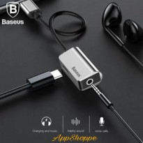 Baseus Type-C Male To Type-C Female AUDIO +3.5MM Female Adapter L40