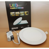 Led Panel 12 watt light Model BULAT Merk SANLY ( NYALA SUPER BRIGHT )