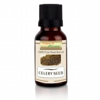 Happy Green Celery Seed Essential Oil (10 ml) - Minyak Biji Seledri