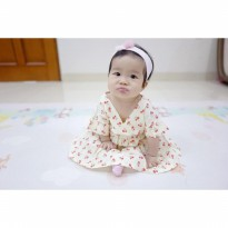 dress cherry baju bayi import ELEGANT limited stock