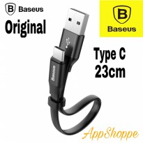 Baseus Type C USB Portable Cable 23cm Fast Charging