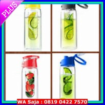 #Botol Minum & Termos Generasi 2 Tritan Bottle BPA FREE with Fruit / INFUSED BOTTLE