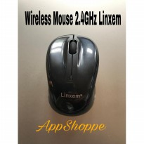 Mouse Wireless 2.4GHz Optical with USB Receiver Windows Mac LINXEM