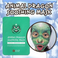 SNP Animal Mask - Dragon HARGA PER 1 PCS MASKER ANIMAL