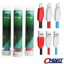 Vivan Kabel Data Charger Apple iPhone Lightning + Tabung Cable CTL100