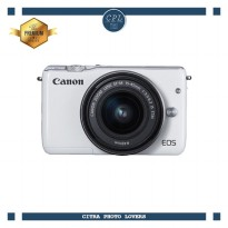 Canon EOS M10 Kit 15-45mm IS STM - White