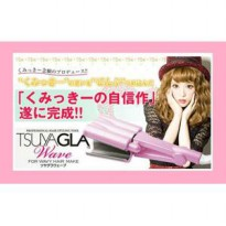 Tsuyagla Wave 26mm ( Alat Pengeriting Rambut )