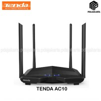 Tenda AC10 AC1200 MU-MIMO Dual-Band Gigabit Wi-Fi Router Repeater