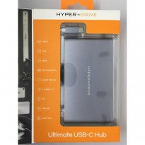 Hyperdrive Ultimate 11-in-1 USB-C Hub for MacBook, PC, USB-C Devices -