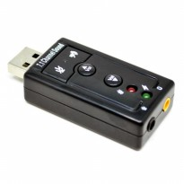 USB SOUNDCARD 7.1 PC NOTEBOOK LAPTOP KOMPUTER MACBOOK BM800 SOUND CARD