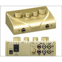 [globalbuy] Free shipping BY China Post/HK Post .HD-N2 Karaoke sound mixer high quality Ka/550042