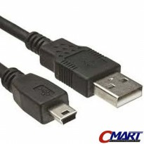 Howell USB 2.0 to mini USB 2m 2 meter Cable Kabel - HWL-UB2AMNM-200
