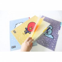 BT21 CLEAR FILE FOLDER BT21 X MONOPOLY FOLDER - UNOFFICIAL PREMIUM QUALITY
