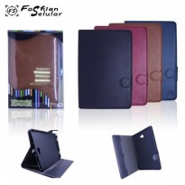 Sarung Tablet FS Leather Blue Moon Kancing-Tab A 8 inch 2015 T350 | Samsung Tab A 10 inch / P585