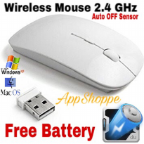 MAGIC MOUSE WIRELESS 2.4GHz COMPATIBLE FOR LAPTOP NOTEBOOK