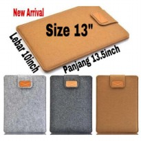 SARUNG LAPTOP CASE COVER HIGHEST QUALITY FELT 13 inch