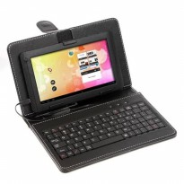 Leather Case Keyboard Tablet 10 Inch Flip Micro USB Port