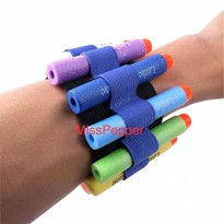 gelang ammo tactical Nerf wrist strap band
